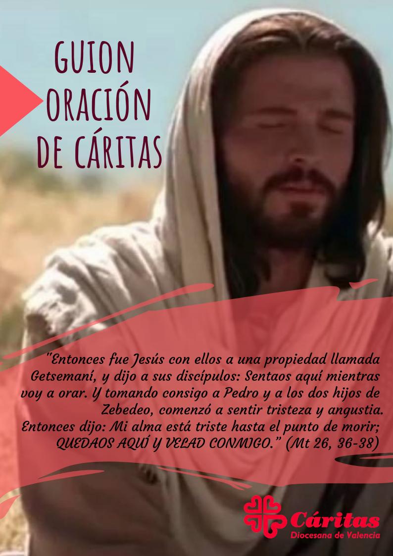 Portada oraciones Cáritas Valencia.
